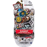 Tech Deck 96mm Fingerboard Multipack, Pack of 4, Assorted