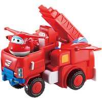 Super Wings Deluxe Transforming Vehicle Jett