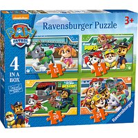 Paw Patrol 4 In a Box Puzzle, 72 Pieces