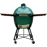 Big Green Egg Extra Large Nest BBQ with Wood Shelves Bundle
