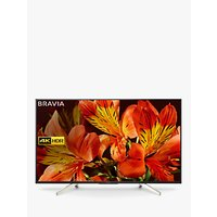 Sony Bravia KD43XF8505 LED HDR 4K Ultra HD Smart Android TV, 43 with Freeview HD & Youview, Black