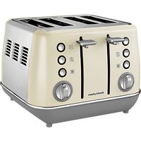 Buy Morphy Richards Evoke 4-Slice Toaster - John Lewis & Partners