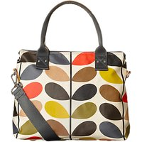 Orla Kiely Matt Laminated Giant Stem Print Messenger Bag, Multi