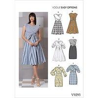 Vogue Women's Dress Sewing Pattern, 9293