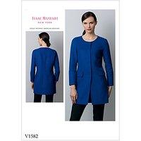 Vogue Women's Jacket Sewing Pattern, 1582