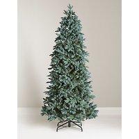 John Lewis & Partners Bergen Blue Unlit Christmas Tree, 7ft