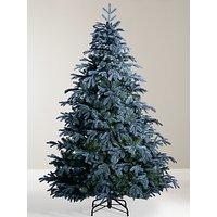 John Lewis & Partners St. Petersburg Unlit Christmas Tree, Blue, 7ft