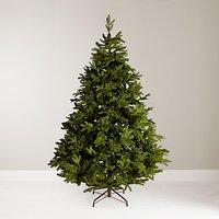 John Lewis & Partners St. Petersburg Unlit Christmas Tree, Green, 7ft