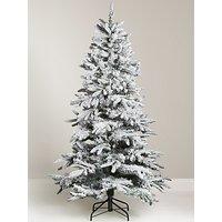 John Lewis & Partners Snowy Mountain Pine Unlit Christmas Tree, 6ft