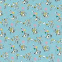 Peter Rabbit Print Fabric