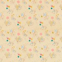 Peter Rabbit Print Fabric, Neutral