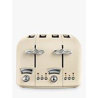 Buy De'Longhi Argento Flora 4-Slice Toaster - John Lewis