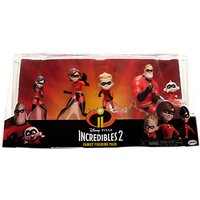 Disney Pixar The Incredibles 2 Family Figurine Pack