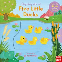 Sing Along With Me! Five Little Ducks Childrens Board Book