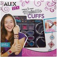 ALEX DIY Weave & Wear Metallic Cuffs