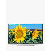 Sony Bravia KD49XF8096 LED HDR 4K Ultra HD Smart Android TV, 49 with Freeview HD & Youview, Black