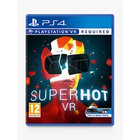 Superhot VR Game for PS4