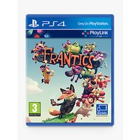 Frantics, PS4 PlayLink