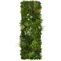 Easi Wall Handmade Vertical Artificial Plant Wall, Green
