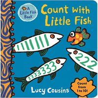 Count with Little Fish Children's Board Book