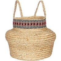 John Lewis & Partners Fusion Embellished Trim Storage Basket
