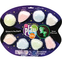 Learning Resources Glow in the Dark Playfoam, Pack of 8