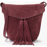 And/or Mila Suede Flapover Tassel Cross Body Bag