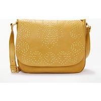 And/or Isabella Leather Stud Shoulder Bag, Ochre