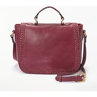 And/or Isabella Leather Whipstitch Saddle Bag
