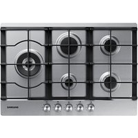 Samsung NA75J3030AS Gas Hob, Stainless Steel
