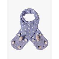 John Lewis & Partners Children's Unicorn Knitted Scarf, Purple