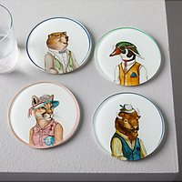 west elm Dapper Coasters, Set of 4