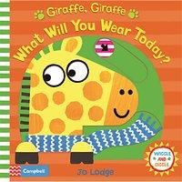 Giraffe, Giraffe What Will You Wear Today? Children's Book