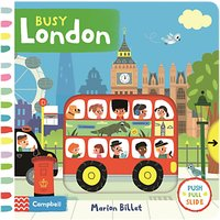 Busy London Children's Book