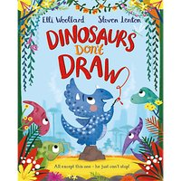 Dinosaurs Don't Draw Children's Book