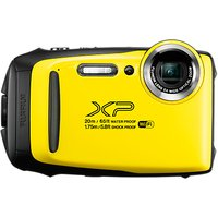 Fujifilm XP130 Waterproof, Freezeproof, Shockproof, Dustproof Digital Compact Camera with 5-25mm OIS Lens, 1080p Full HD, 16.4MP, 5x Optical Zoom, Wi-Fi, Bluetooth, 3 LCD Screen