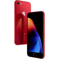 Apple iPhone 8, iOS 11, 4.7, 4G LTE, SIM Free, 64GB, (PRODUCT)RED