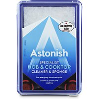Astonish Specialist Hob & Cook Top Cleaner & Sponge
