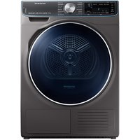 Samsung DV90N8288AX/EU Freestanding Heat Pump Tumble Dryer, 9kg Load, A+++ Energy Rating, Graphite