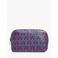Liberty London Iphis Print Canvas Cosmetic Bag