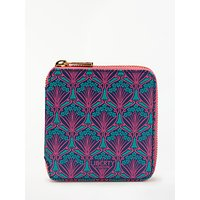 Liberty London Iphis Print Small Zip Around Purse