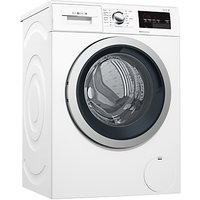 Bosch WAT283S0GB Freestanding Washing Machine, 8kg Load, A+++ Energy Rating, 1400rpm Spin, White