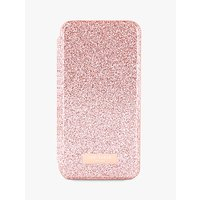 Ted Baker PERI Mirror Folio Case for iPhone X, Rose Gold