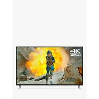 Panasonic TX-49FX650B LED HDR 4K Ultra HD Smart TV, 49 with Freeview Play & Switch Design Adjustable Stand, Black