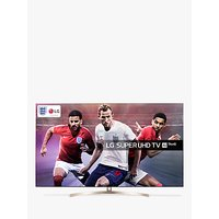 LG 55SK9500PLA LED HDR Super UHD 4K Ultra HD Smart TV, 55 with Freeview Play/Freesat HD, Cinema Screen Design, Dolby Atmos & Crescent Stand, Black