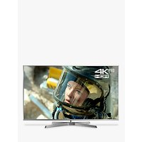 Panasonic 75FX750B LED HDR 4K Ultra HD Smart TV, 75 with Freeview Play/Freesat HD, Silver