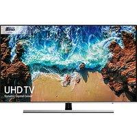 Samsung UE65NU8000 HDR 1000 4K Ultra HD Smart TV, 65 with TVPlus/Freesat HD, Dynamic Crystal Colour & 360 Design, Ultra HD Certified, Black