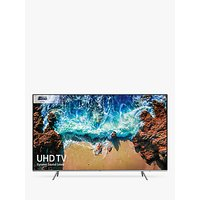 Samsung UE82NU8000 HDR Extreme 4K Ultra HD Smart TV, 82 with TVPlus/Freesat HD, Dynamic Crystal Colour & 360 Design, Ultra HD Certified, Black