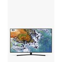 Samsung UE55NU7400 HDR 4K Ultra HD Smart TV, 55 with TVPlus/Freesat HD, Dynamic Crystal Colour & 360 Design, Ultra HD Certified, Black
