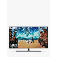 Samsung UE75NU8000 HDR Extreme 4K Ultra HD Smart TV, 75 with TVPlus/Freesat HD, Dynamic Crystal Colour & 360 Design, Ultra HD Certified, Black